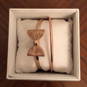 Jewelry - Two rose gold bracelets